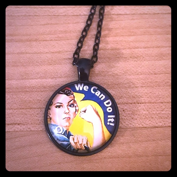 Jewelry - Rosie the Riveter Necklaces
